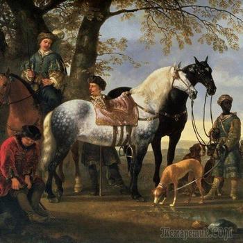 Альберт Якобс Кёйп  и его реалистические картины эпохи барокко.