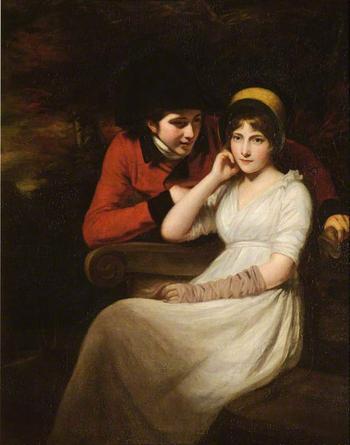 Джон Опи портретная живопись