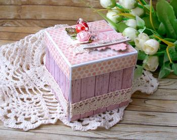 Мастер-класс: подарочная коробочка magic box своими руками