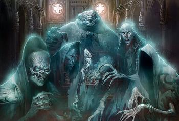 Призраки питаются нашим страхом