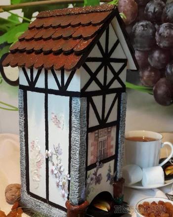 Чайный домик в стиле фахверк