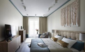 Узкая спальня: где расположить кровать?