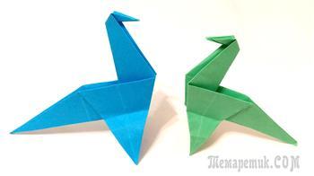 Как сделать динозавра из бумаги
