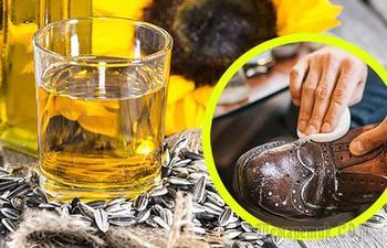 Подсолнечное масло для ухода за обувью, и еще 6 способов использовать его вне кухни
