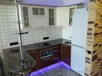 Минчанин своими руками преобразил квартиру в новостройке