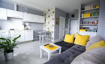 Однушка 35м² на Киевской