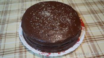Торт «Шоколадное безумие»