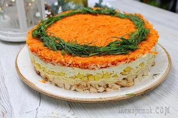 Очень яркий и вкусный салат