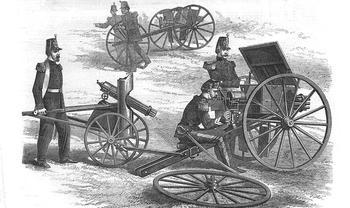 «Безумная» Митральеза: почему прототип современного пулемета остался недооцененным