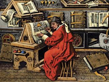 Шедевры мировой литературы... От книжного колеса до букридера. История устройств для чтения