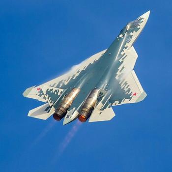 Обновлённая система РЭБ «Гималаи» Су-57 способна «обезоружить» американский F-35.