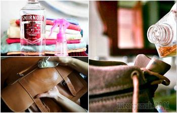 Хитрости, которые помогут быстро освежить и привести в порядок весеннюю одежду и обувь