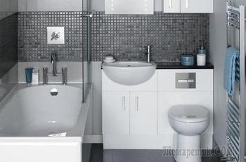 Великолепные идеи, которые идеально подойдут для крошечных ванных комнат