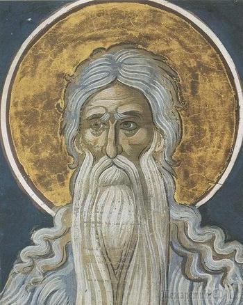 Преподобный Макарий Великий, Египетский