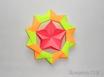 Подарок поделка на 23 февраля Оригами из бумаги