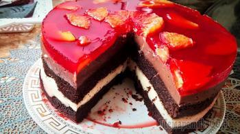 Торт из простых продуктов