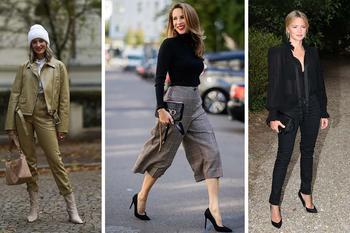 Брюки, которые будут носить оголтелые модницы в год Белого Металлического Быка