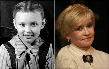 Российские знаменитости в школьные годы и сейчас