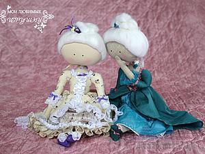Текстильная кукла-примитив Адель