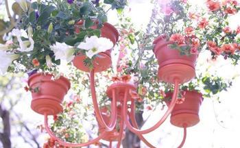 Необычные цветочные вазоны