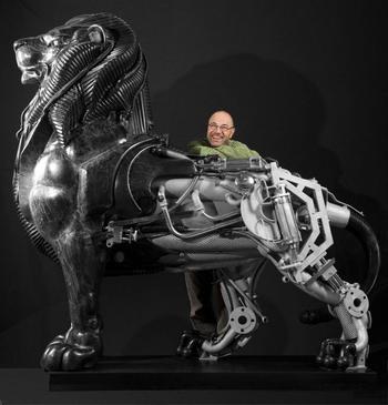 Скульптуры из необычного материала