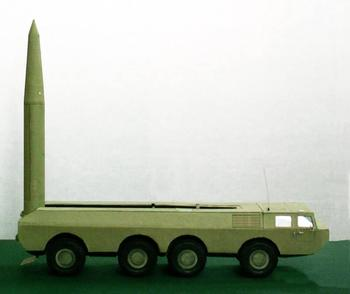Проект оперативно-тактического ракетного комплекса 9К711 «Уран»