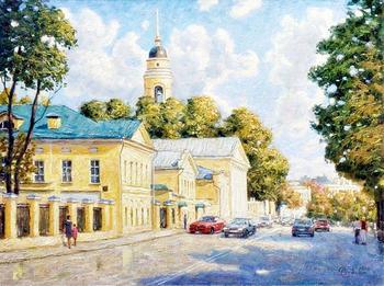 Москва ненаглядная...Картины Игоря Владимировича Разживина
