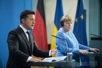 Расплата за «Северный поток — 2»: о чем Зеленский говорил с Меркель