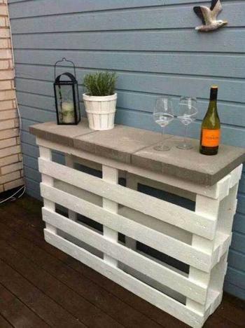Идеи мебели для двора из подручных материалов