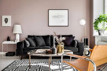 Когда цвет меняет все: квартира в Швеции