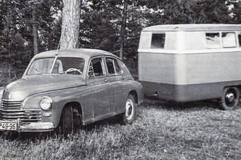 Какими были трейлеры для автотуризма в СССР?