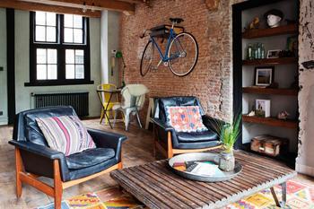 Эклектичный дом в самом центре Амстердама