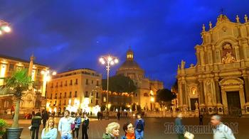 Сицилия 03. Сердце Катании: Пьяцца дель Дуомо и Кафедральный собор Святой Агаты