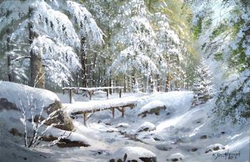 Марек Щепаняк. Зимние пейзажи