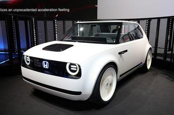 Honda Urban EV Concept – предвестник электрического сити-кара