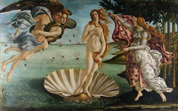 Женская нагота в живописи художников