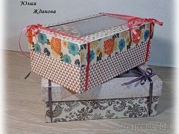 Делаем упаковочную коробку с шейкером