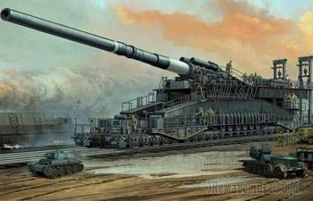 Вундерваффе: как в Германии создали самую грозную и бесполезную пушку Второй мировой войны