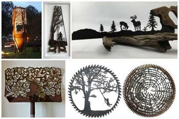 Искусство резьбы по металлу