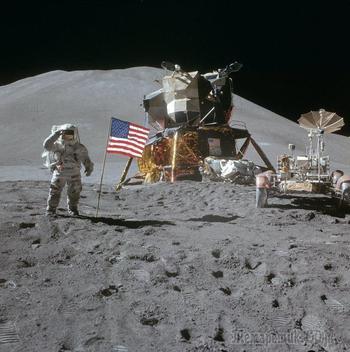 Проект лунного автомобиля. Была ли высадка на Луну?