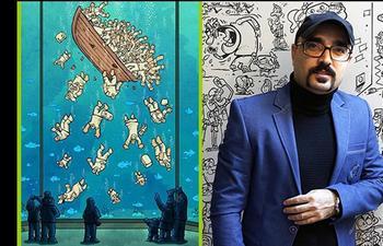 Злободневные иллюстрации о суровых буднях врачей во время пандемии: Взгляд иранского карикатуриста Алиреза Пакделя