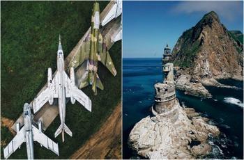 Заброшенные места России на потрясающих аэрофотоснимках