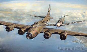 Почему немецкий ас-истребитель в 1943 пощадил и спас 9 американских летчиков