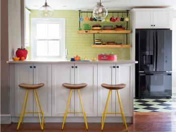 Кухня площадью 9 кв. м – дизайн 2017 года