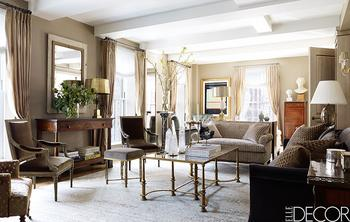 Великолепные апартаменты с благородными интерьерами в Нью-Йорке