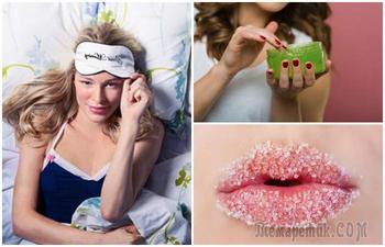 10 вещей, которые обязательно нужно сделать перед сном, чтобы проснуться красавицей