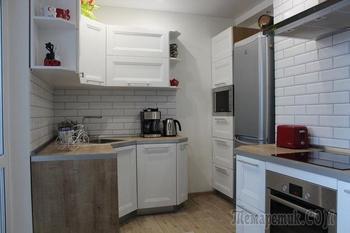 Кухня: скандинавская с элементами хай-тека