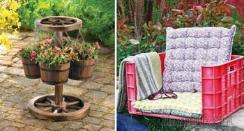 Создаём уют своими руками, или идеи декора для сада и дачи