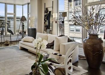 Невероятная нейтральная квартира в Манхэттене