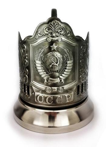 Из истории советских подстаканников